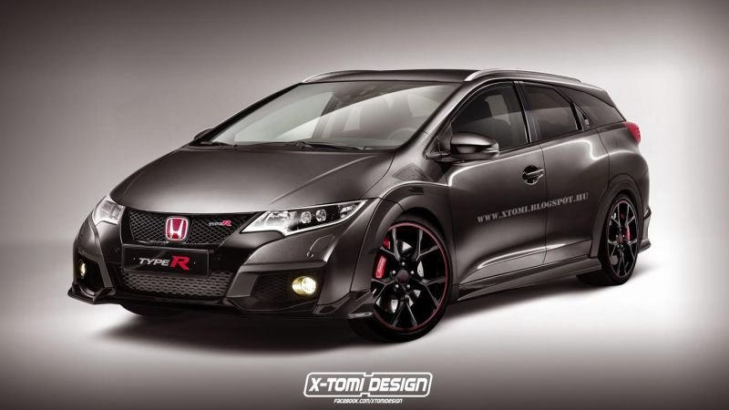 honda civic type r wagon is 1 Honda Civic Type R als Kombi (Wagon) Variante