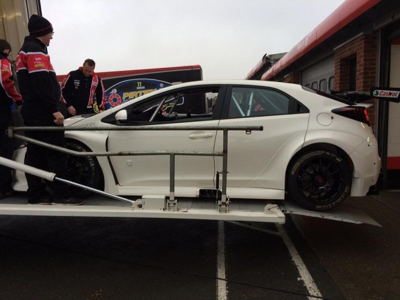 honda civic type r will race version 1 Honda Civic Type R Rennwagen für die britische BTCC