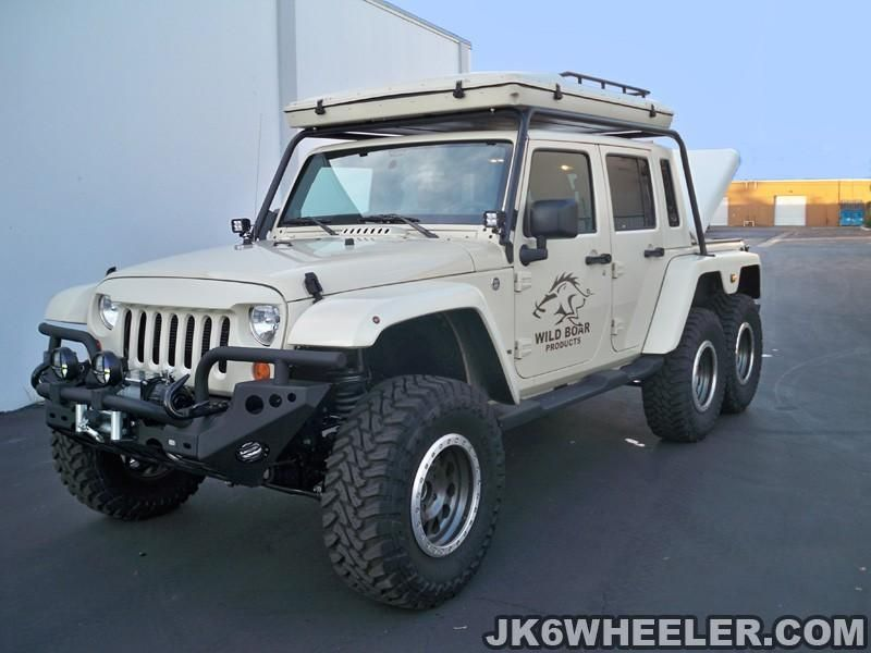 Jeep Wrangler Pickup Truck 6x6 of Tyrant Motor Works