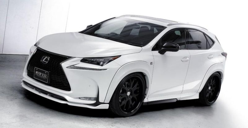 lexus nx f sport air suspension aimgain body kit 1 Lexus NX 200t F Sport mit Aimgain Widebody Kit und Luftfederung