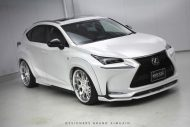 lexus nx f sport air suspension aimgain body kit 21 190x127 Lexus NX 200t F Sport mit Aimgain Widebody Kit und Luftfederung