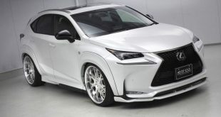 lexus nx f sport air suspension aimgain body kit 21 310x165 Lexus NX 200t F Sport mit Aimgain Widebody Kit und Luftfederung