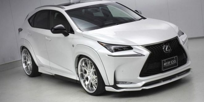 lexus nx 200t f sport mit aimgain widebody kit und. Black Bedroom Furniture Sets. Home Design Ideas