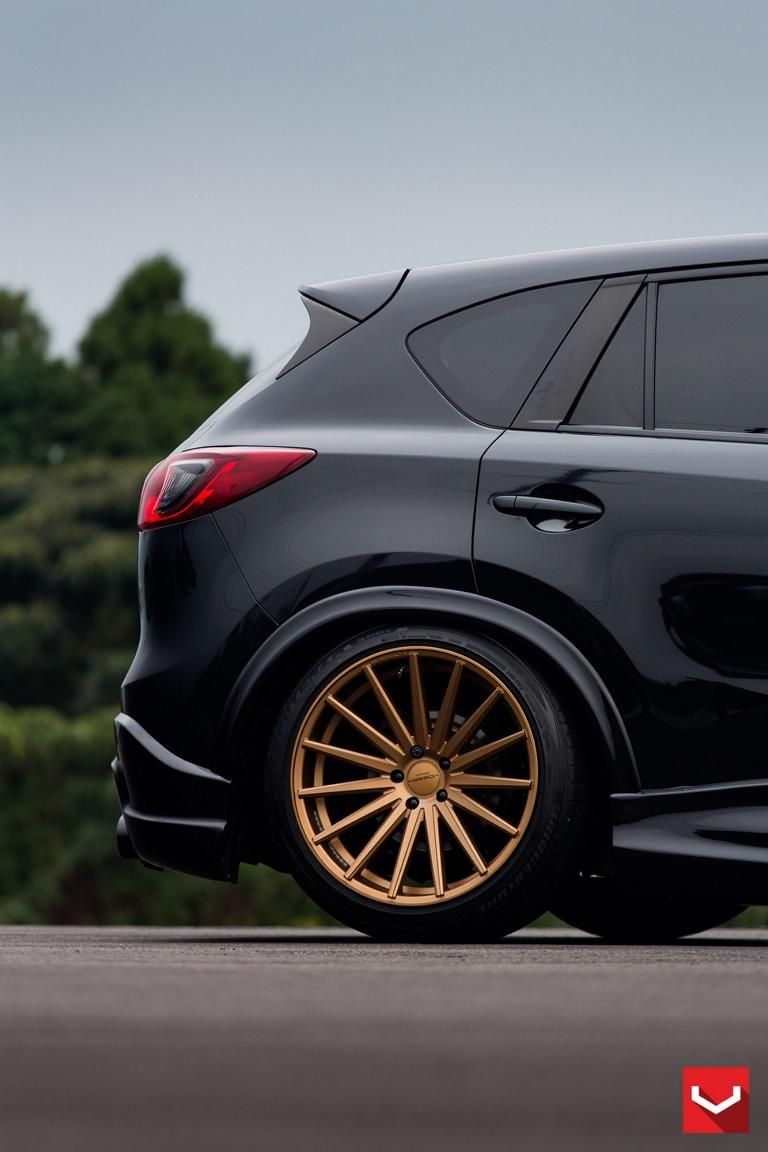 vossen wheels und bodykit am mazda cx 5. Black Bedroom Furniture Sets. Home Design Ideas