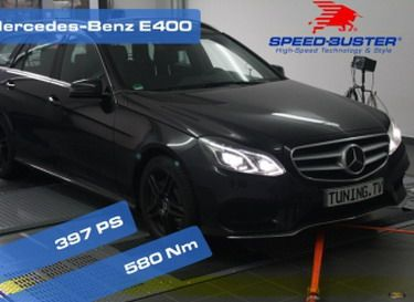 mercedes e400 speed buster 1 Speed Buster verpasst dem Mercedes E400 397PS