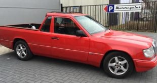 mercedes w 124 pickup 1 310x165 Widebody Mercedes 200E (W124) mit BMW M50 Triebwerk