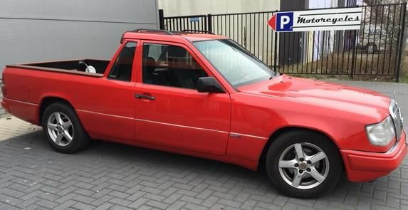 mercedes w 124 pickup 1 Mercedes E Klasse W124 Pick Up Umbau