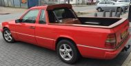 mercedes w 124 pickup 3 190x96 Mercedes E Klasse W124 Pick Up Umbau