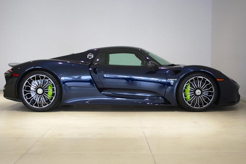porsche 918 spyder mit weissach paket porsche 918 spyder mit weissach paket zum verkauf der. Black Bedroom Furniture Sets. Home Design Ideas