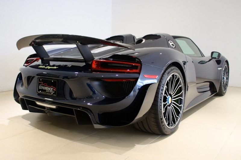 porsche 918 spyder mit weissach paket zum verkauf der tuning und styling blog. Black Bedroom Furniture Sets. Home Design Ideas