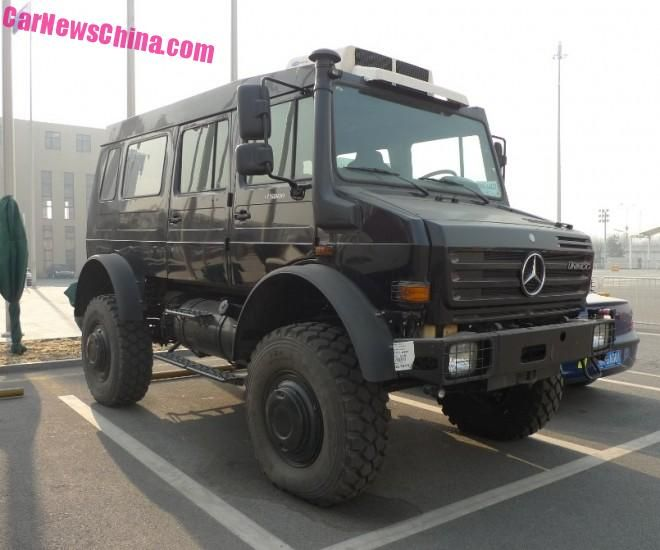 unimog u5000 china 1 Das ist mal ein SUV! Mercedes Unimog 500 in China