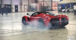 video donuts in der halle mit de 310x165 Video: Donuts in der Halle mit dem Ferrari LaFerrari