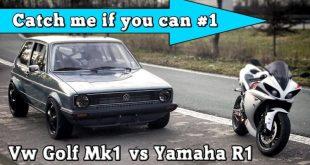 video verrueckt yamaha r1 vs vw 310x165 Video: Verrückt! Yamaha R1 vs. VW Golf 1 mit 1.056PS
