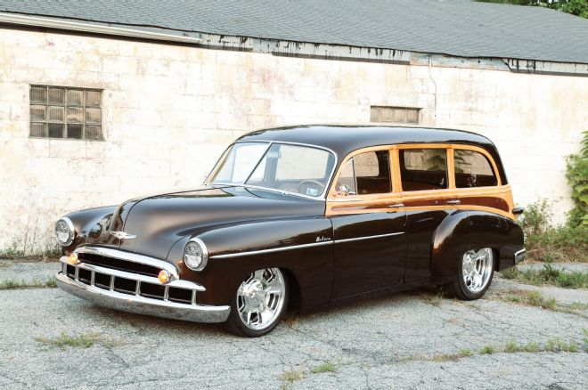 1949 chevrolet wagon tuning 1 1949er Chevrolet Wagon mit Technik von heute!