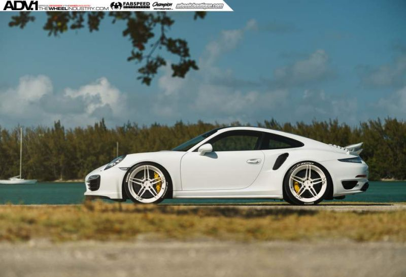 ADV1 Porsche 991 Turbo S tuning 1 Porsche 991 Turbo S mit ADV.1 Wheels Alufelgen von Champion Motorsport