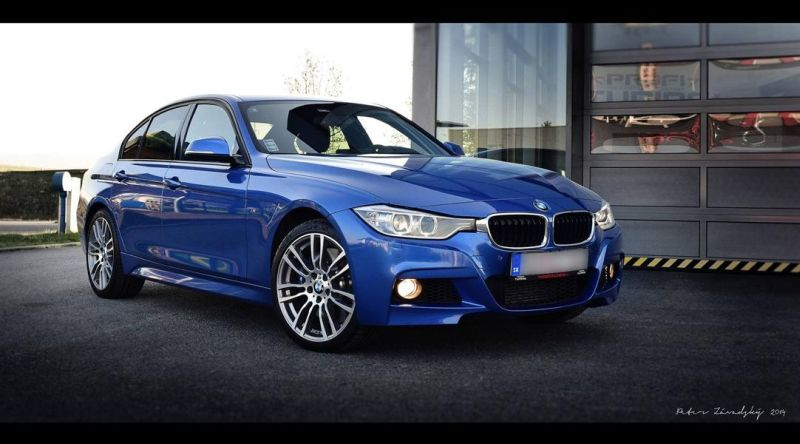 BMW 335xD F30 PROFITUNING STAGE 1 Profi Tuning pimpt den BMW F30 335d xDrive auf 440PS