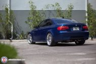 BMW E92 M3 On HRE Classic 303 1 190x127 BMW E92 M3 mit HRE Classic 303 Wheels in Silber