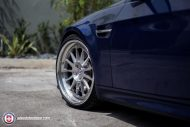 BMW E92 M3 On HRE Classic 303 10 190x127 BMW E92 M3 mit HRE Classic 303 Wheels in Silber