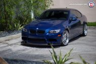 BMW E92 M3 On HRE Classic 303 4 190x127 BMW E92 M3 mit HRE Classic 303 Wheels in Silber