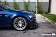 BMW E92 M3 On HRE Classic 303 5 190x127 BMW E92 M3 mit HRE Classic 303 Wheels in Silber