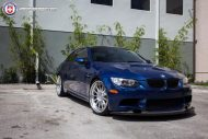 BMW E92 M3 On HRE Classic 303 7 190x127 BMW E92 M3 mit HRE Classic 303 Wheels in Silber