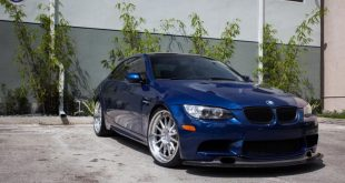 BMW E92 M3 On HRE Classic 303 7 310x165 BMW E92 M3 mit HRE Classic 303 Wheels in Silber