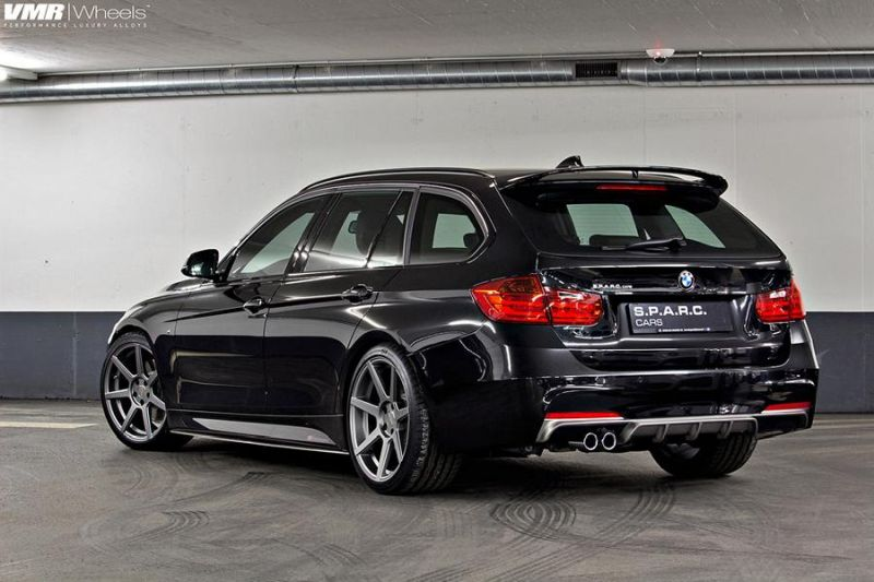 BMW F31 3 Series On VMR 706 Gunmetal 1 VMR Wheels VMR 706 auf dem BMW 3er F31 Touring