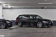 BMW F31 3 Series On VMR 706 Gunmetal 3 190x127 VMR Wheels VMR 706 auf dem BMW 3er F31 Touring