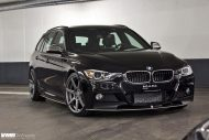 BMW F31 3 Series On VMR 706 Gunmetal 4 190x127 VMR Wheels VMR 706 auf dem BMW 3er F31 Touring