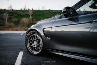 BMW M3 Classic 300 Wheels in Brushed Titanium 2 190x127 HRE Classic 300 Wheels auf dem BMW M3 F80