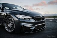 BMW M3 Classic 300 Wheels in Brushed Titanium 5 190x127 HRE Classic 300 Wheels auf dem BMW M3 F80