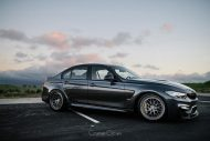 BMW M3 Classic 300 Wheels in Brushed Titanium 7 190x127 HRE Classic 300 Wheels auf dem BMW M3 F80