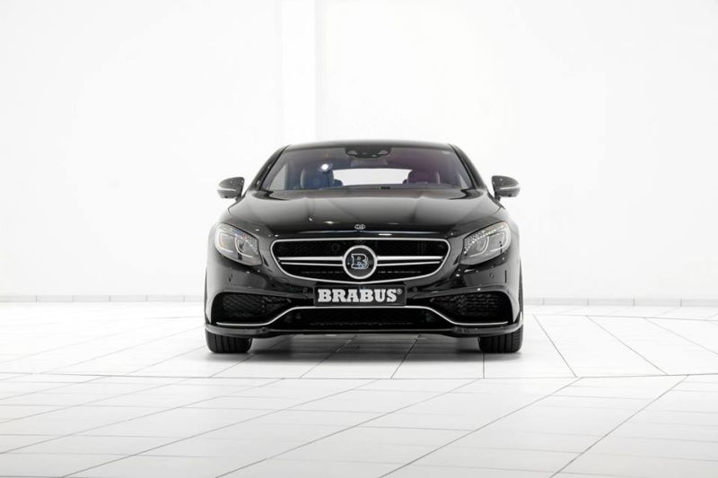 Brabus Mercedes S63 Coupe Tuning 1 Brabus Mercedes S63 AMG Coupe! Tuningpower mit 850PS