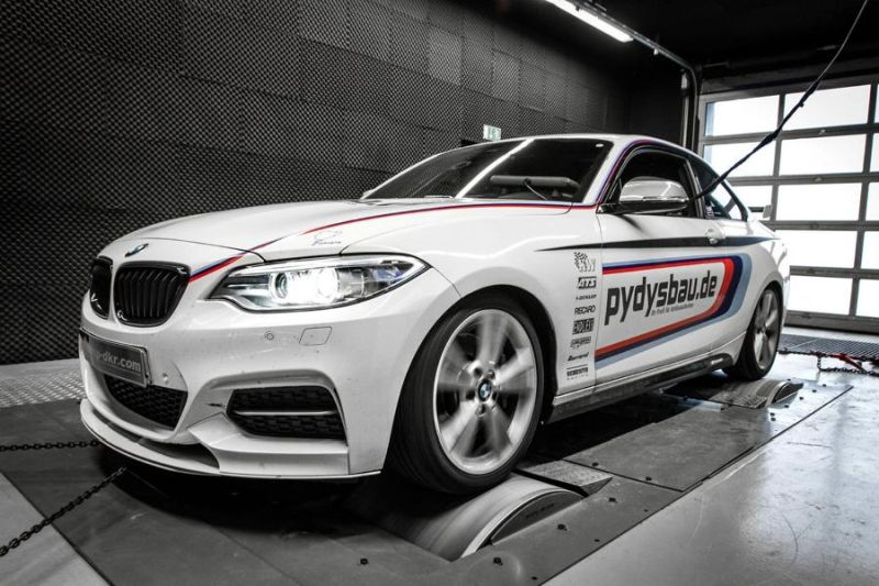 Chiptuning Mcchip-DKR BMW M235i Coupe F22 365PS 1