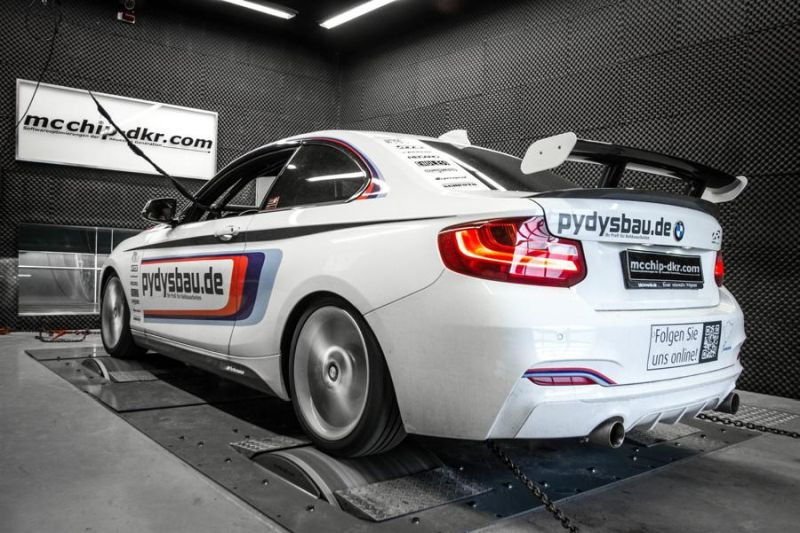 Chiptuning Mcchip-DKR BMW M235i Coupe F22 365PS 8