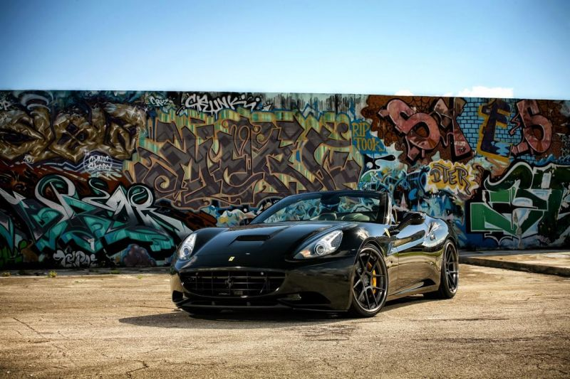 Exclusive Motoring Ferrari California On ADV5.0 Track Spec 1 Exclusive Motoring tunt den Ferrari California mit ADV.1 Wheels