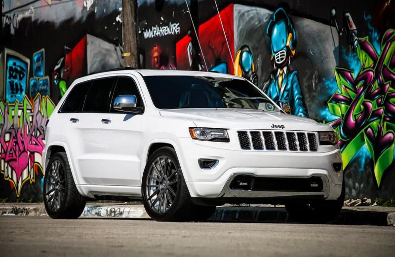 Exclusive Motoring Jeep Grand Cherokee By XO Luxury Wheels 1 Jeep Grand Cherokee mit XO Luxury Wheels von Exclusive Motoring