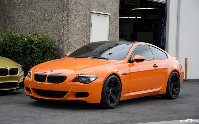 bmw e63 m6 v10 in fire orange von eas tuning. Black Bedroom Furniture Sets. Home Design Ideas