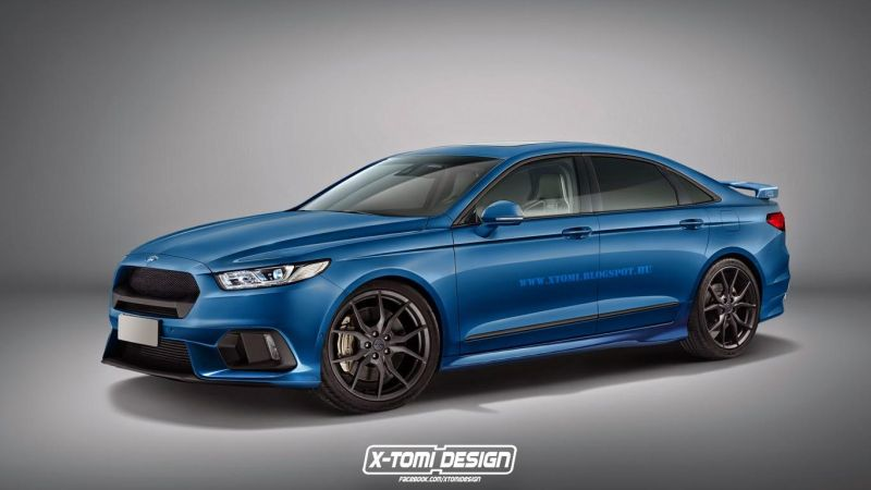 Ford taurus x tomi 1 Neuer Ford Taurus als RS Version von X Tomi Design
