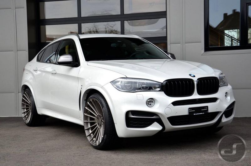 Hamann BMW X6 F16 Tuning DS Automobile 1 DS automobile & autowerke GmbH tunt den BMW X6 F16 M50d