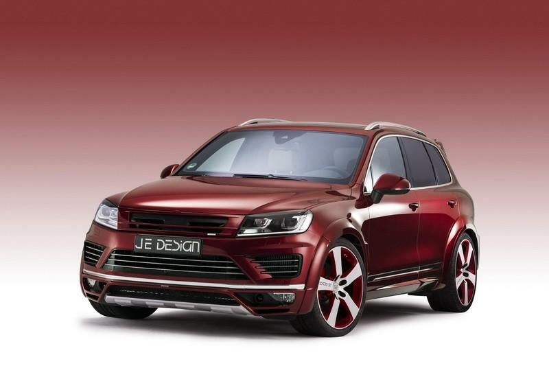 JE Design Bodykit VW Touareg Facelift Tuning (1)