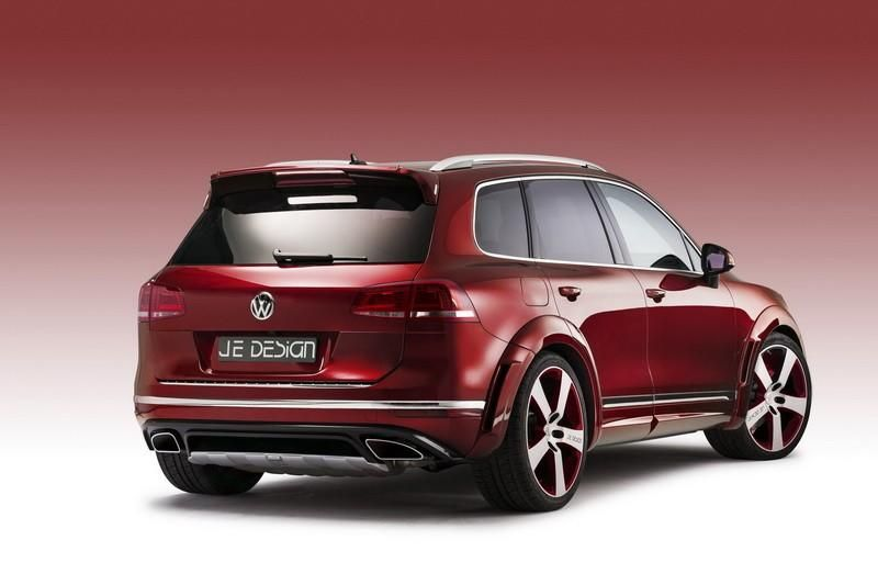 JE Design Bodykit VW Touareg Facelift Tuning (3)
