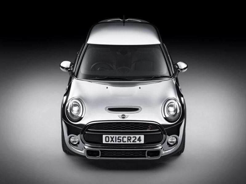 MINI Chrome Line Exterieur Deluxe paket 03 Chrome Line Exterieur Deluxe am Mini Cooper S