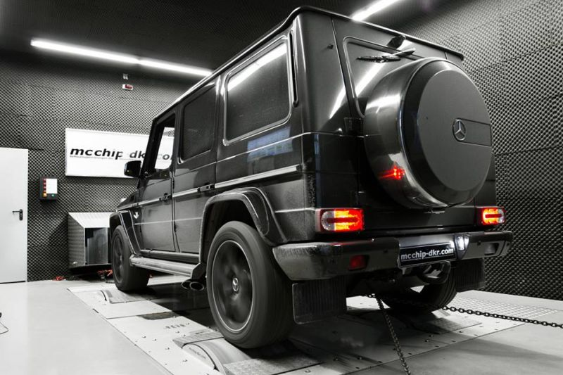 Mcchip Mercedes G63 mc800 tuning 1 Mercedes G63 AMG Tuning by Mcchip DKR SoftwarePerformance