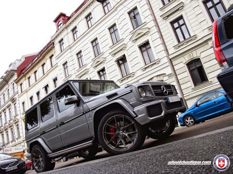 Mercedes G63 AMG on HRE P101 By HRE Wheels 1 Wheels Boutique tunt den Mercedes Benz G63 AMG