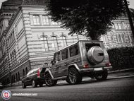 Mercedes G63 AMG on HRE P101 By HRE Wheels 3 190x143 Wheels Boutique tunt den Mercedes Benz G63 AMG