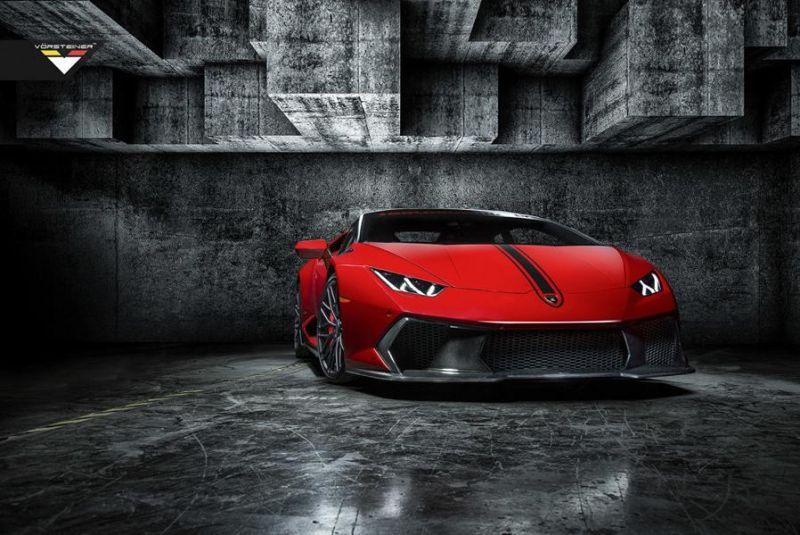 Rosso Mars Vorsteiner Novara Edizione Lamborghini Huracan Tuning 4