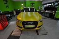 Satin Yellow Audi S6 print tech 2 190x126 Exclusiver AUDI S6 in Centurion Satin Gelb von Print Tech