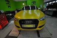 Satin Yellow Audi S6 print tech 3 190x126 Exclusiver AUDI S6 in Centurion Satin Gelb von Print Tech