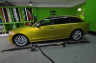 Satin Yellow Audi S6 print tech 5 190x126 Exclusiver AUDI S6 in Centurion Satin Gelb von Print Tech